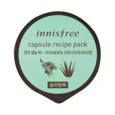 Маска капсульна нічна Innisfree Capsule Recipe Pack - Bija & Tea Tree