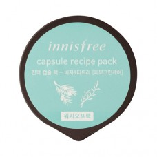 Маска капсульна Innisfree Capsule Recipe Pack - Bija & Tea Tree