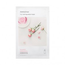 Тканинна маска з екстрактом троянди Innisfree My Real Squeeze Rose Mask