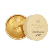 Гідрогелеві патчі Petitfee Gold & Snail Hydrogel Eye Patch